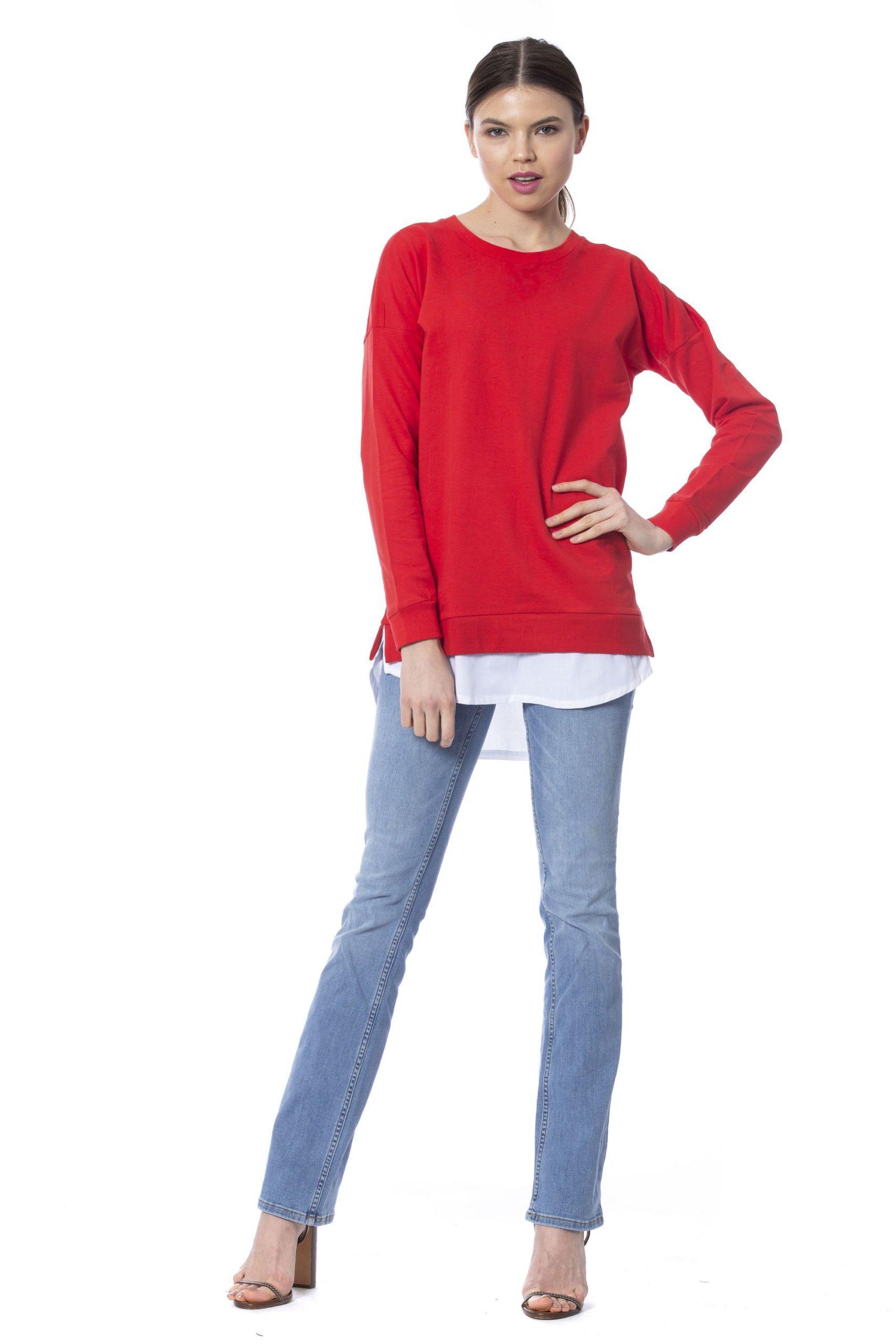 Silvian Heach Women's Watermelon Sweater Red SI1273315 - XS