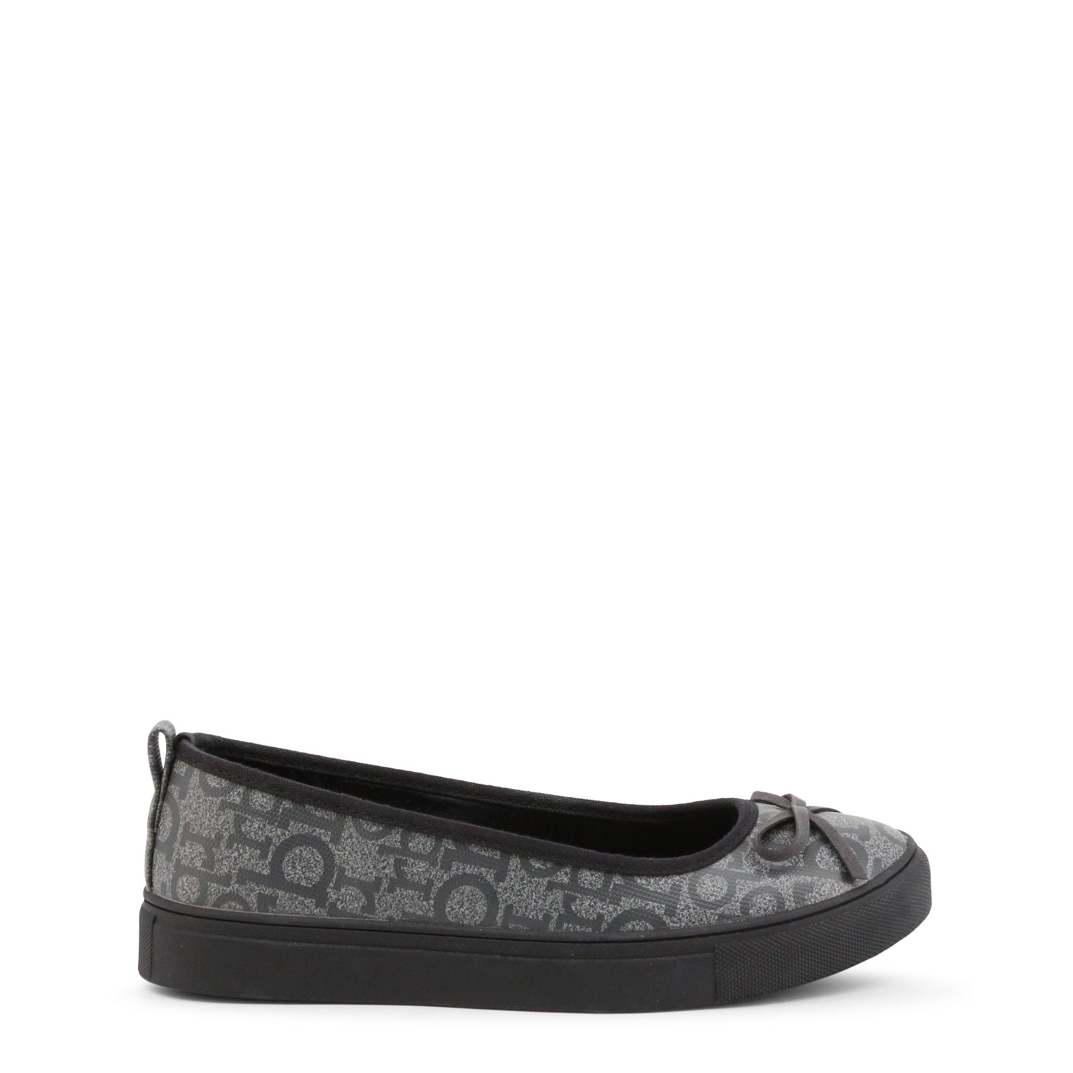 Roccobarocco Women's Flat Shoe Brown RBSC0VB01 - grey EU 36