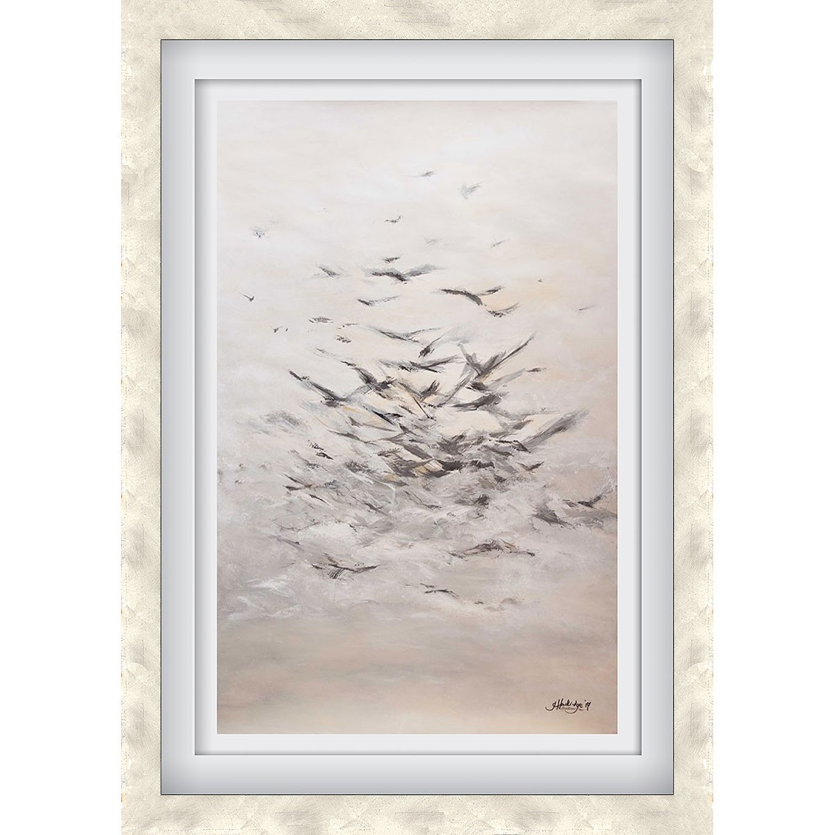 A Migration Silver - X-Large
