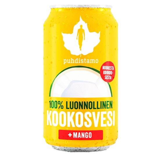 Kookosvesi Mango - 40% alennus