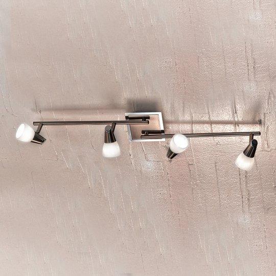 Muunneltava kattovalaisin MIRTEL - 4 -lamppuinen