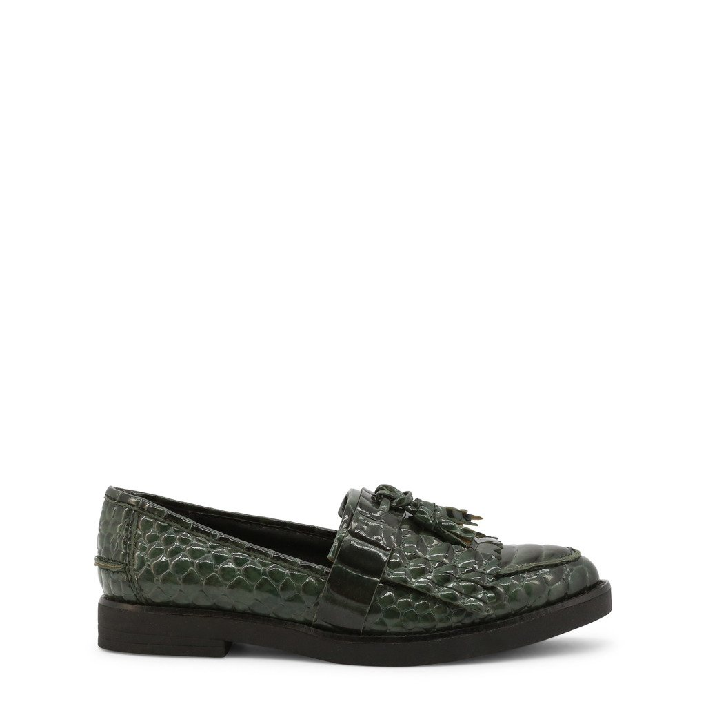 Roccobarocco Women's Loafer Green ROSC0X103PIT - green EU 37