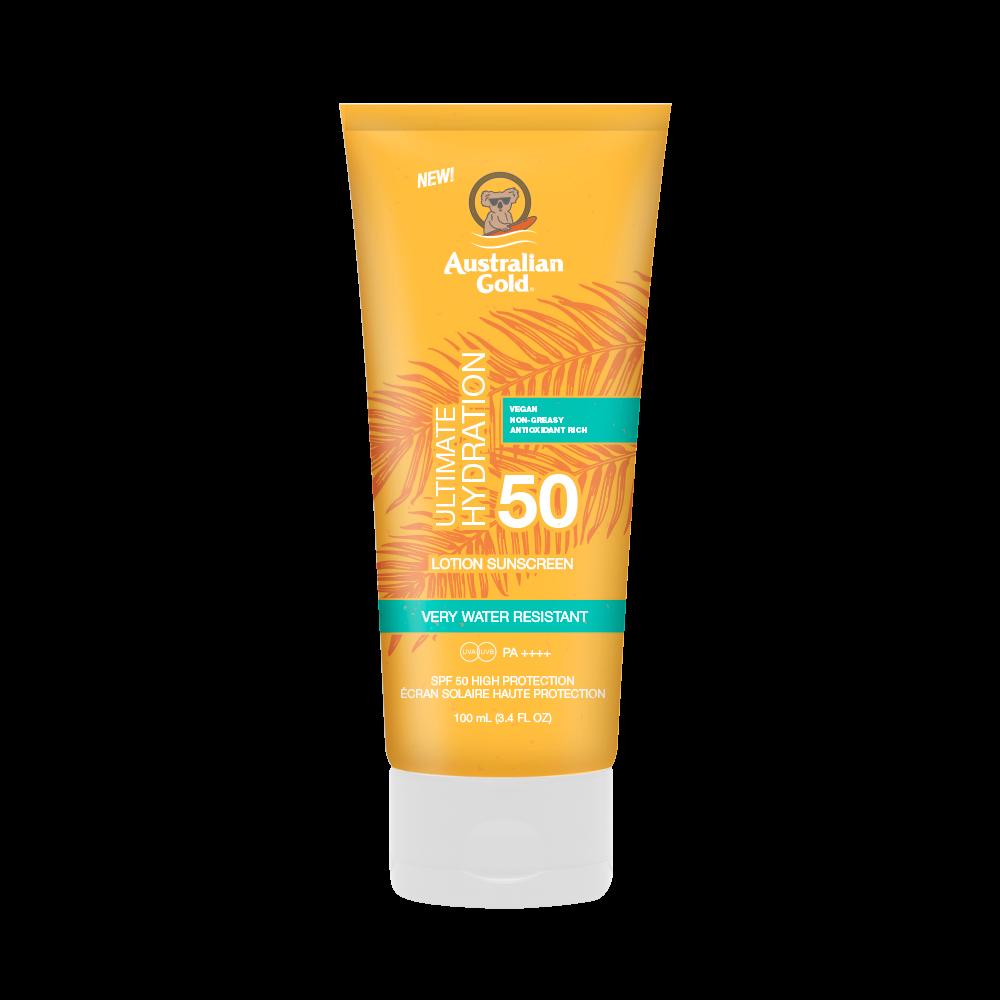Australian Gold - Ultimate Hydration Sunscreen Lotion SPF 50 100 ml