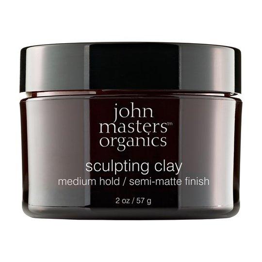 John Masters Organics Sculpting Clay Medium Hold, 57 g