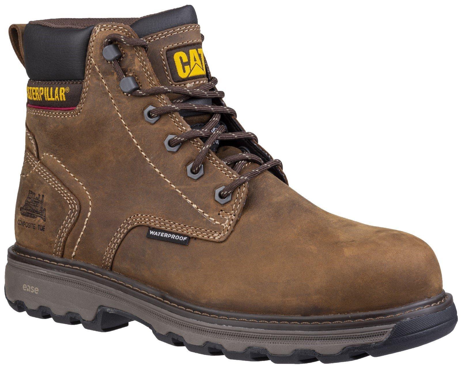 Caterpillar Men's Precision Lace Up Boot Dark Brown 28173 - Dark Brown 6