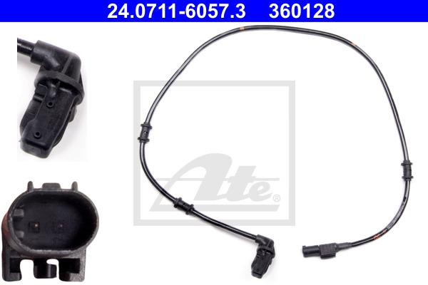 ABS-anturi ATE 24.0711-6057.3
