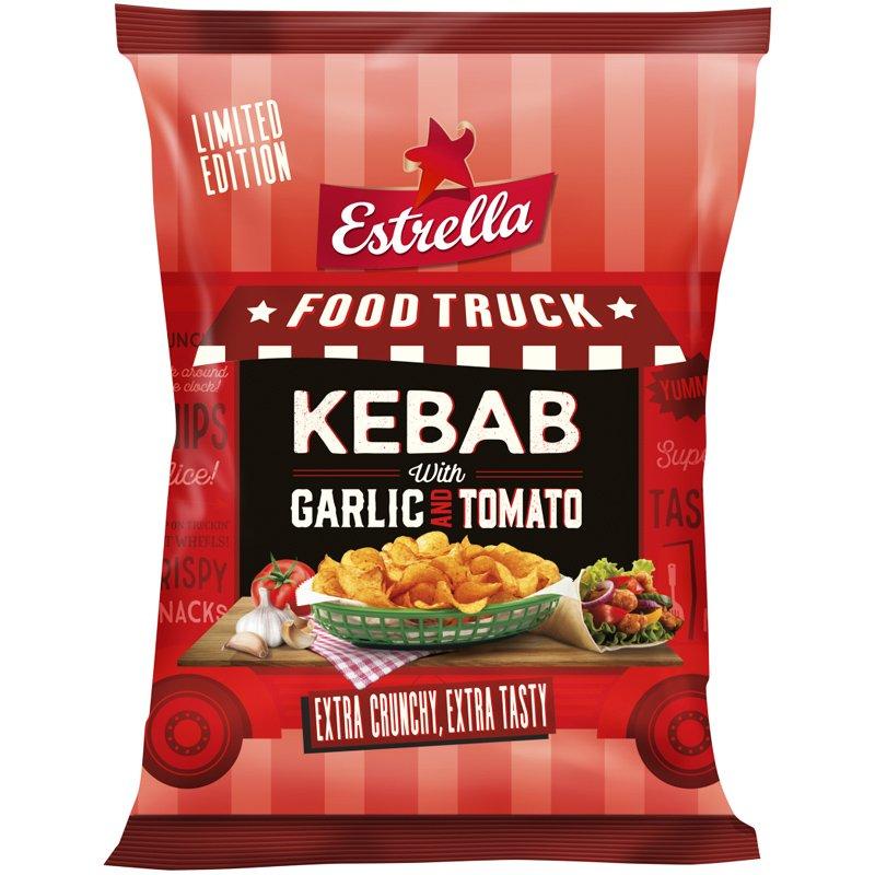 "Perunalastut Kebab ""Garlic & Tomato"" 180g - 40% alennus"
