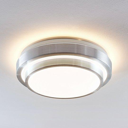 Lindby Naima LED kattovalaisin, pyöreä, 34 cm