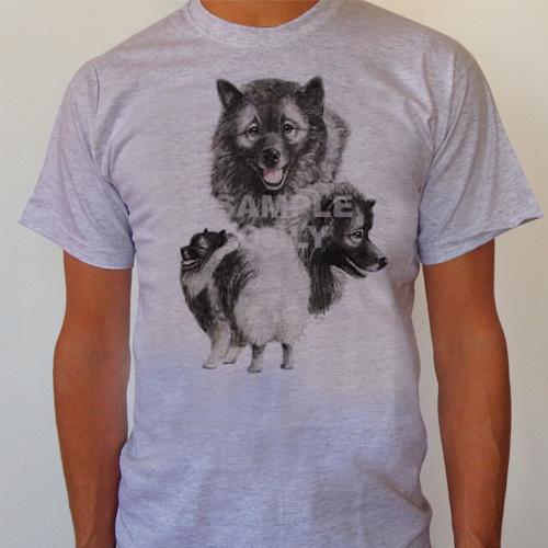 T-Shirt Keeshond Large