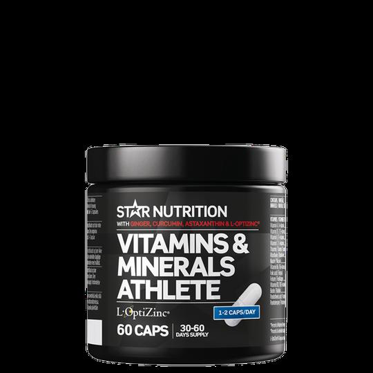 Ultimate Vitamins & Minerals Athlete, 60 caps