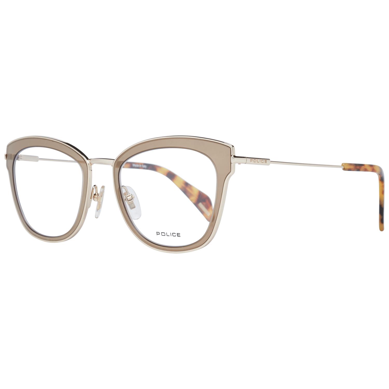 Police Women's Optical Frames Eyewear Bronze PL632M 500300
