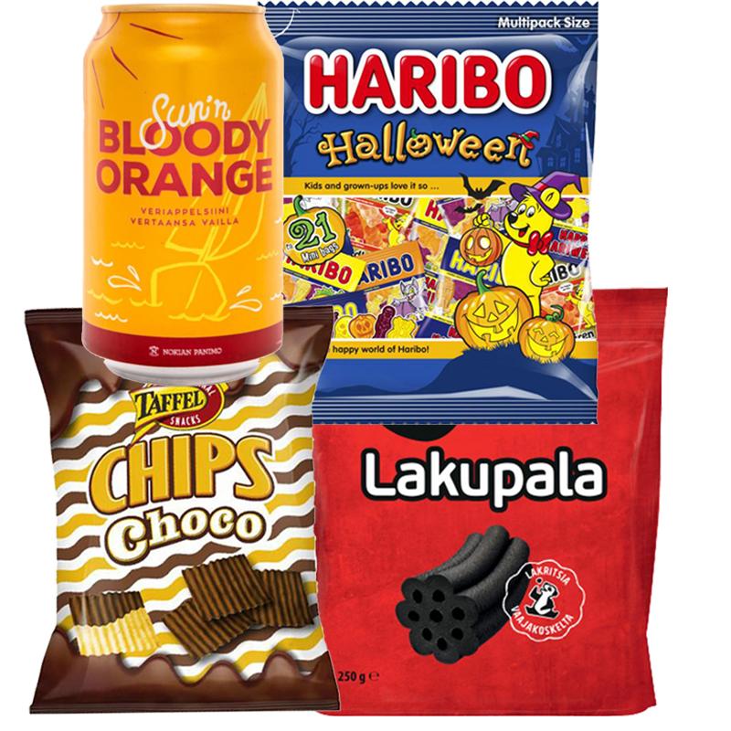 Halloween Herkkupaketti - 85% alennus