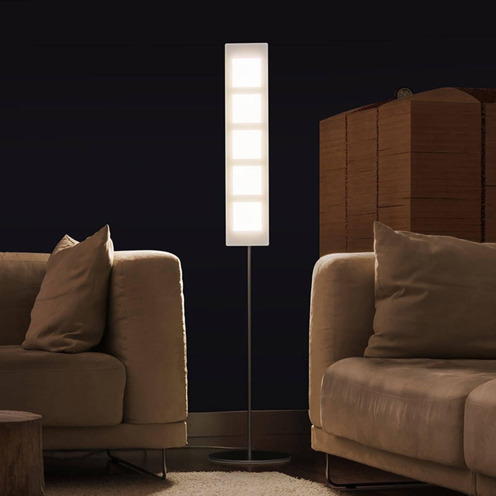 OMLED One f5 gulvlampe hvit