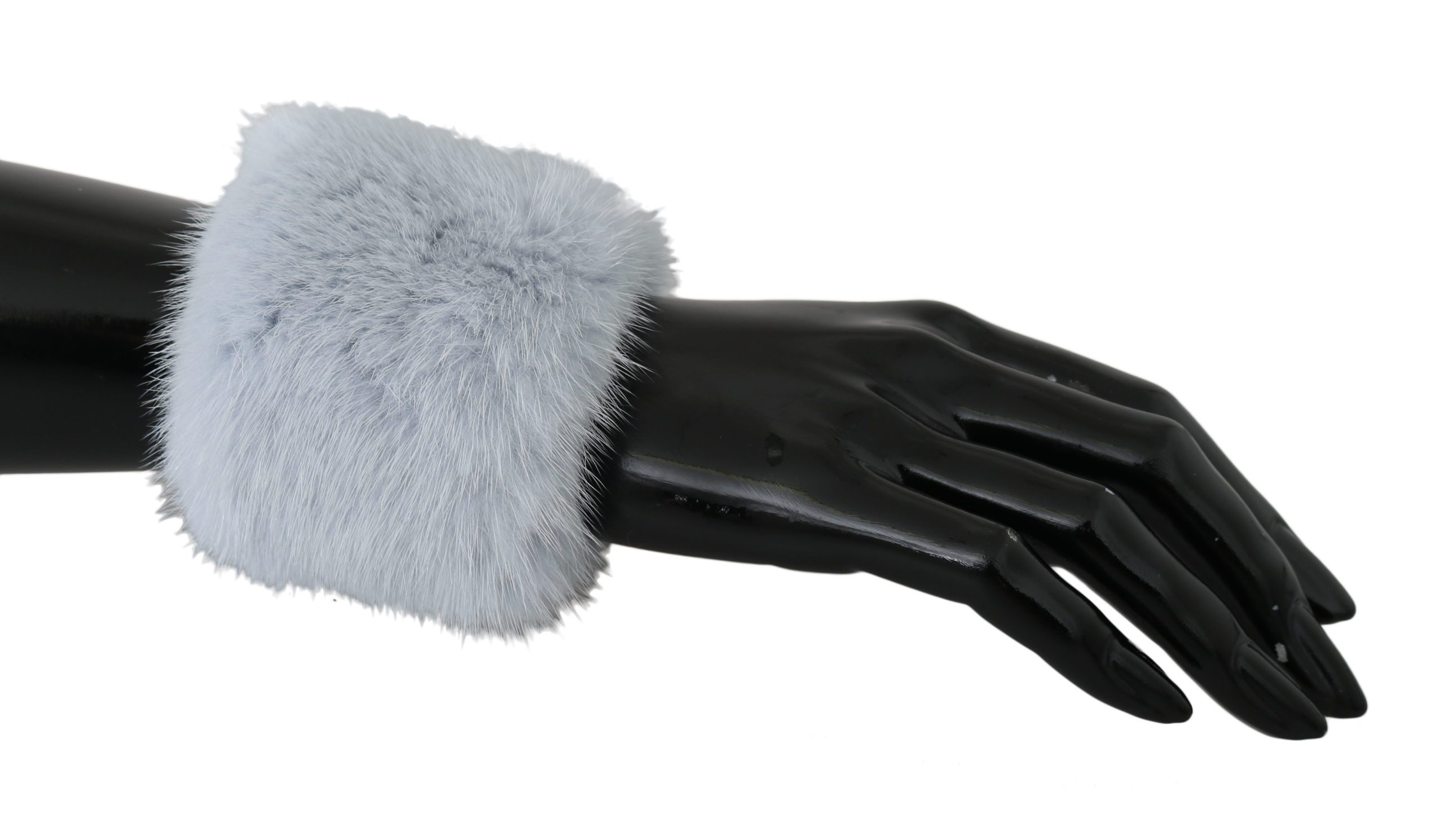 Dolce & Gabbana Women's Mink Fur Bracelet Gray LB503