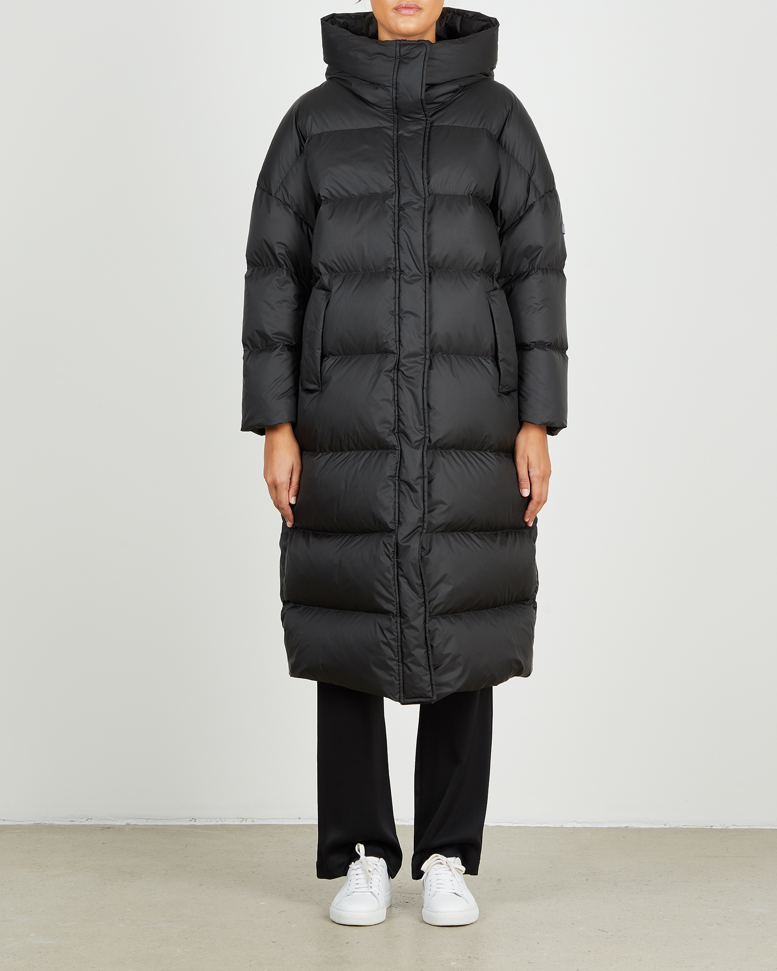 Lempelius Jacka Down Coat svart XS-S