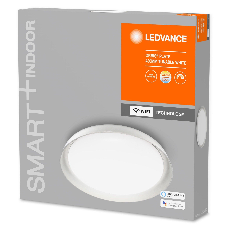 Ledvance - SMART+ Orbis Plate 24W/2700-6500 430mm white WiFi