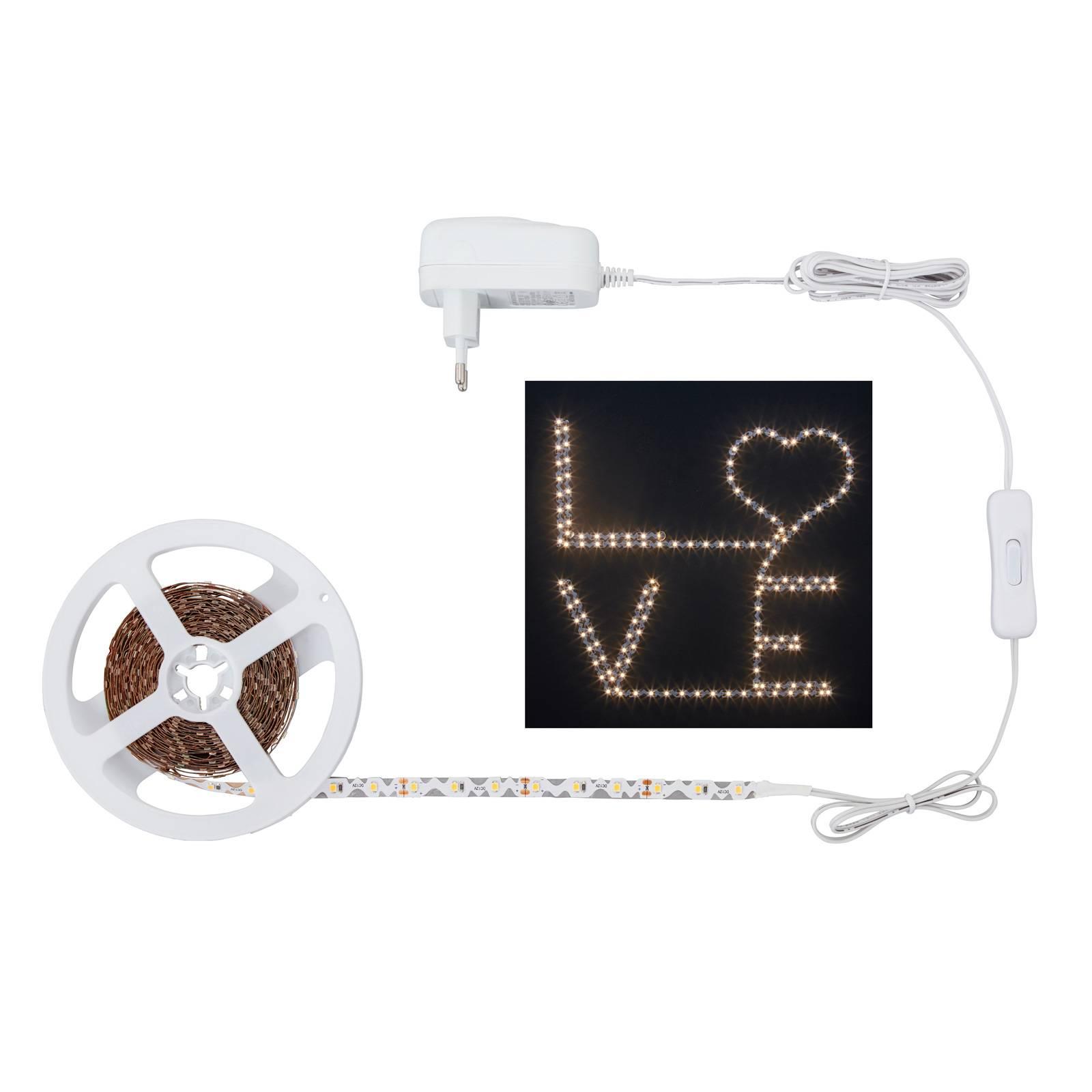 LED-nauha 2264-180 S-muoto, lämmin valkoinen