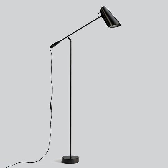Northern Birdy – gulvlampe i svart