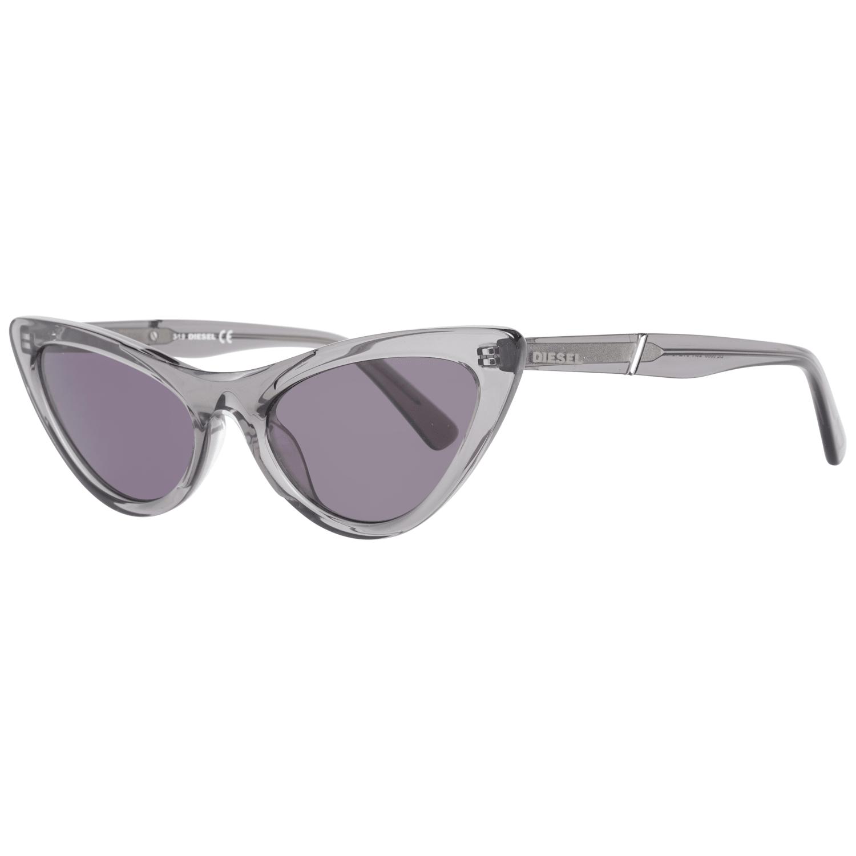 Diesel Women's Sunglasses Grey DL0303 5420A