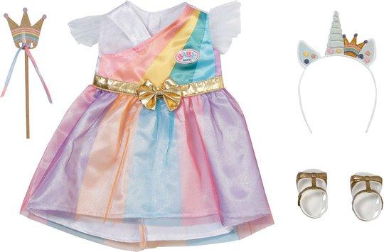 Baby Born Deluxe Dukkeklær Unicorn Princess 43 Cm