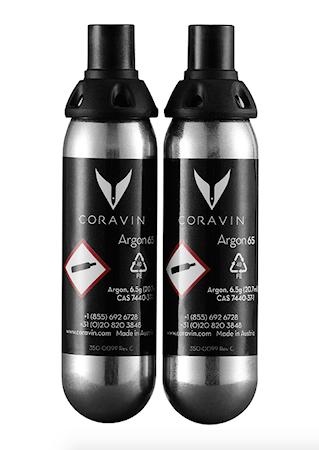 Gasskapsler til Coravin 2p