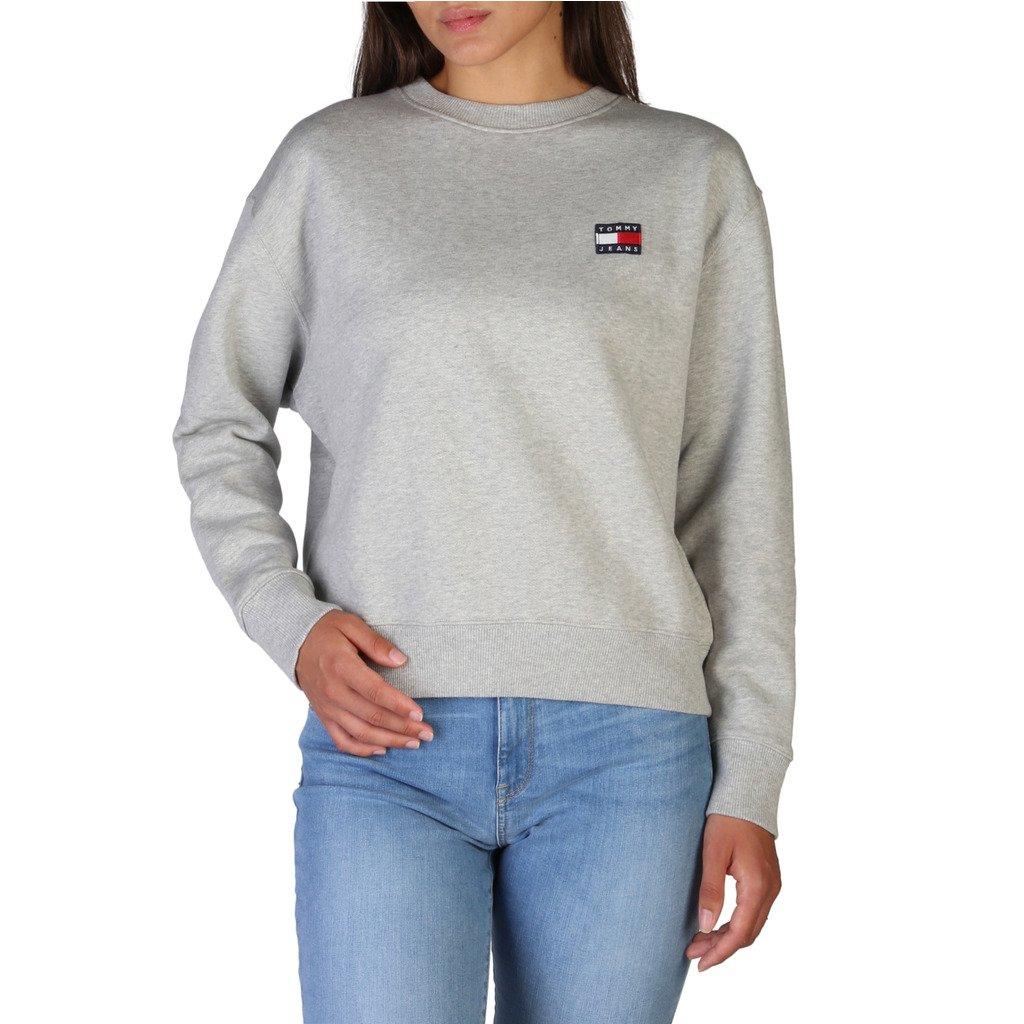 Tommy Hilfiger Women's Sweatshirt Grey DW0DW07422 - grey XXS