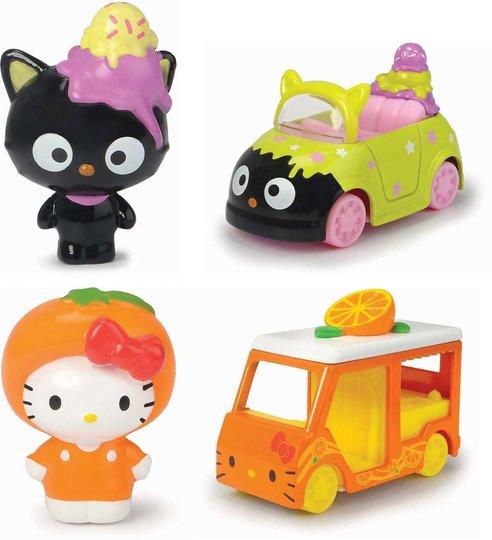 Hello Kitty Figurer Orange & Chocolat Ice Cream