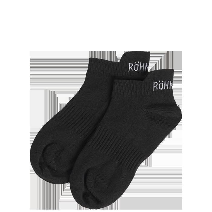 2-Pack Short Sport Socks, Black