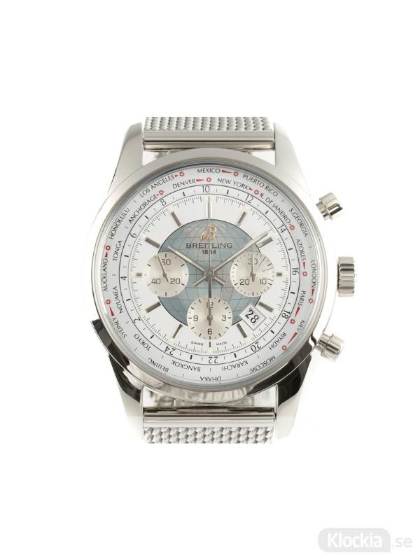 Begagnad Breitling Transocean Unitime 46 GMT Chronograph AB0510