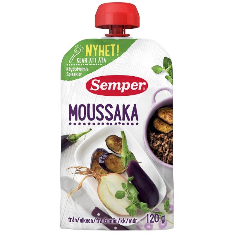 Lastenruoka Moussaka 120g - 39% alennus