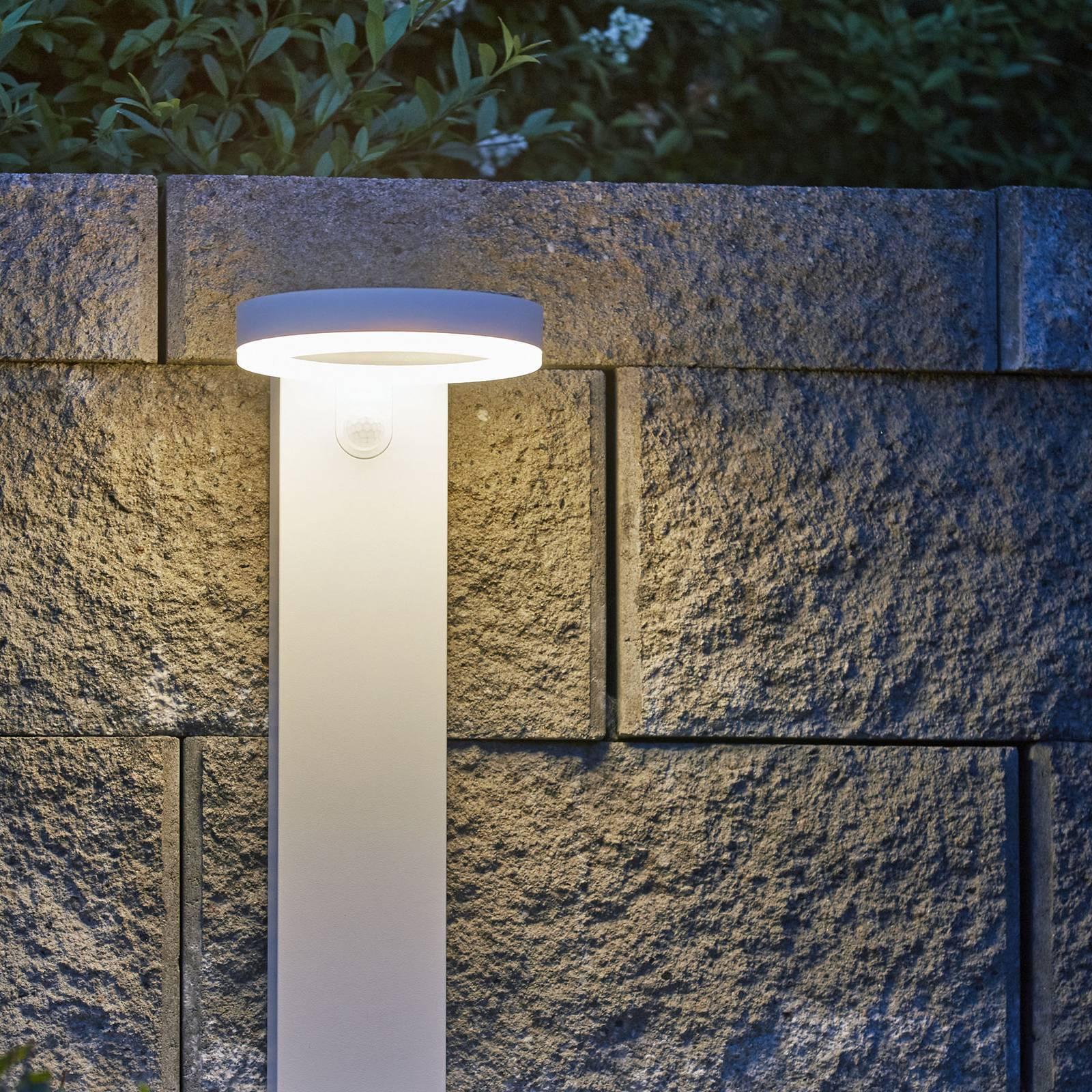LED-aurinkopylväsvalaisin Vidi, liiketunnistin