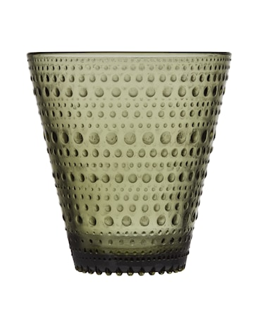 Kastehelmi glas 30 cl mossgrön 2 st