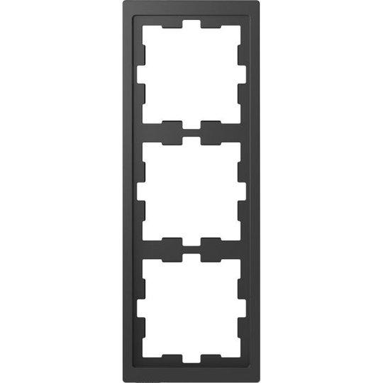 Schneider Electric MTN4030-6534 Yhdistelmäkehys 3 lokero, t-muovi Antrasiitti