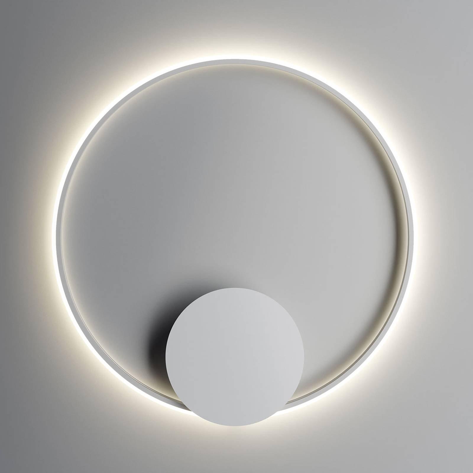 Fabbian Olympic LED-vegglampe 80 cm, hvit