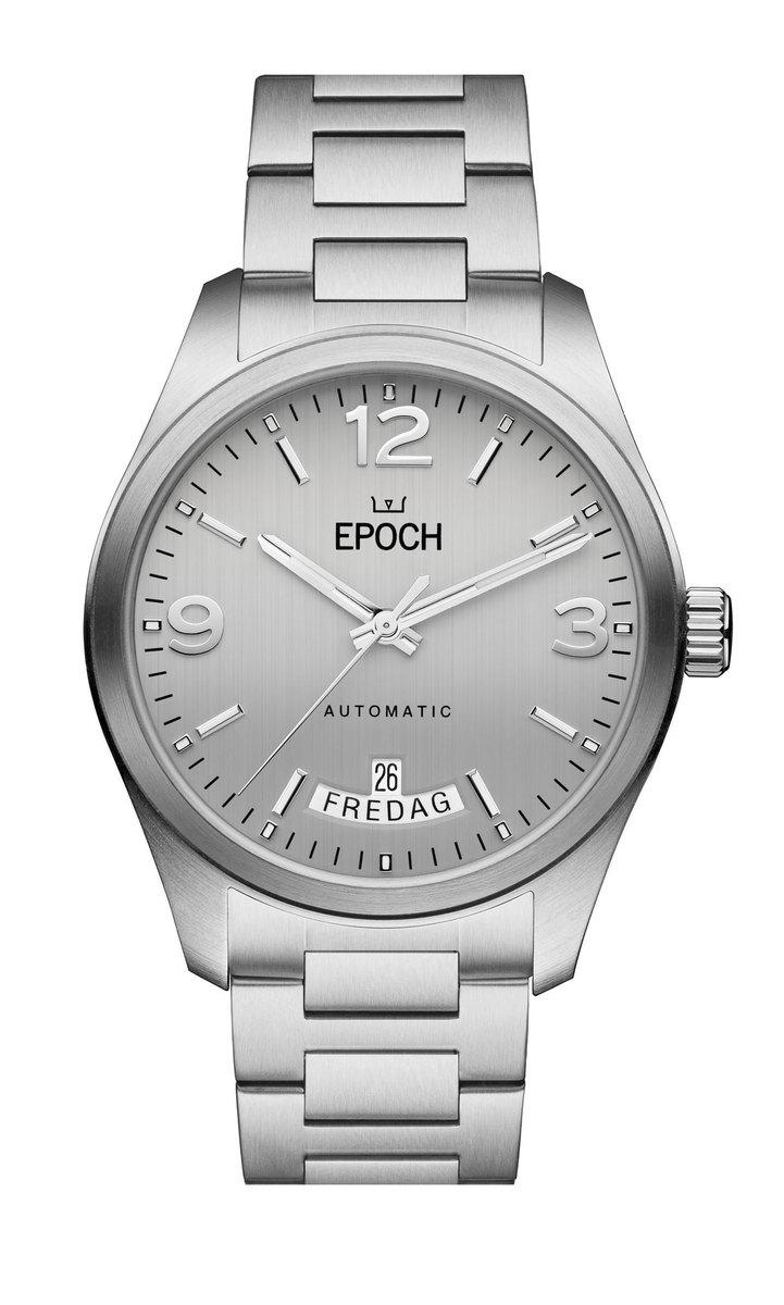 Herrklocka EPOCH Automatic Calendar Silver EP3511