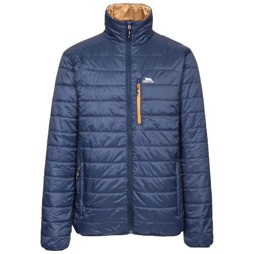 Trespass Men's Quilted Padded Jacket Various Colours Norman - Navy S