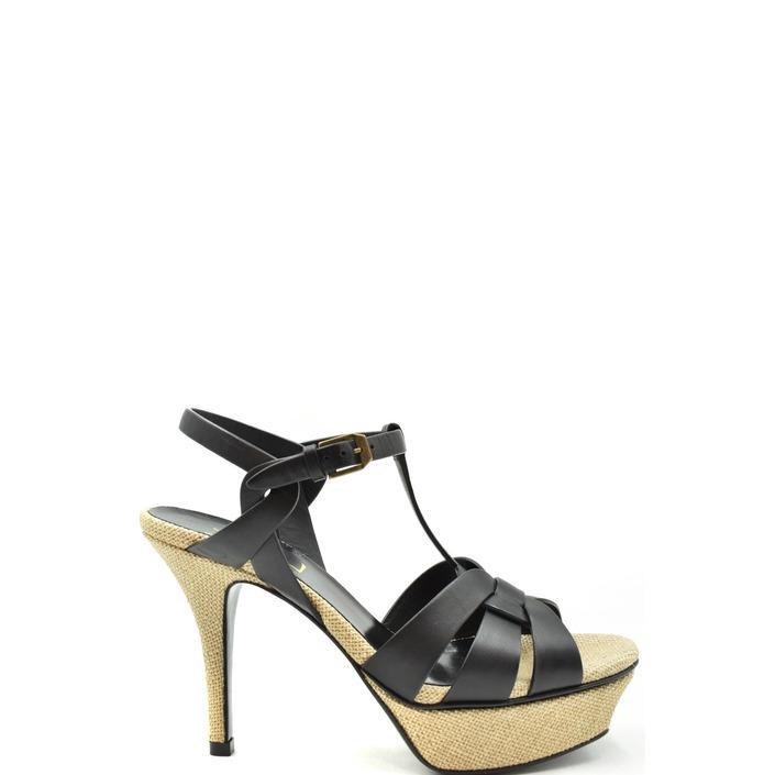 Saint Laurent Women's Sandal Black 179493 - black 41