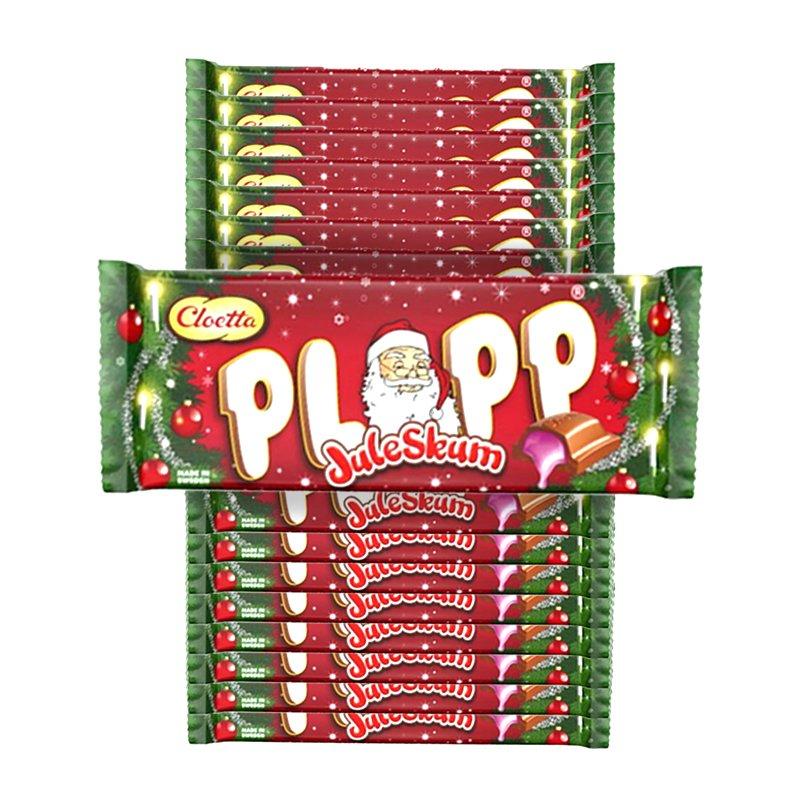 Plopp Juleskum 20-pack - 70% rabatt