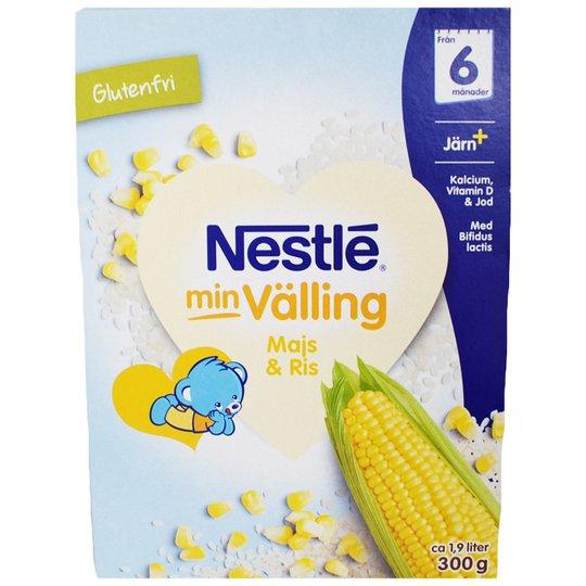 "Barnmat Välling ""Majs & Ris"" 300g - 21% rabatt"