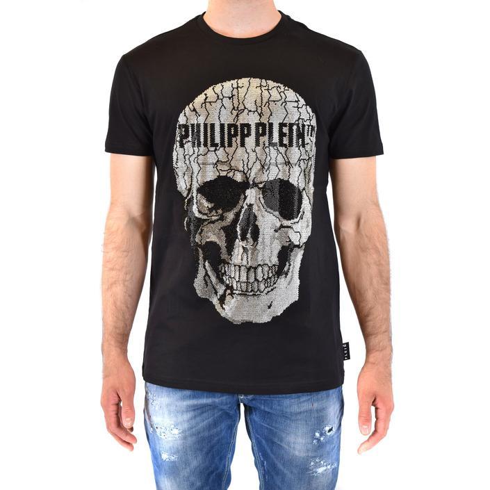 Philipp Plein Men's T-Shirt Black 216088 - black L