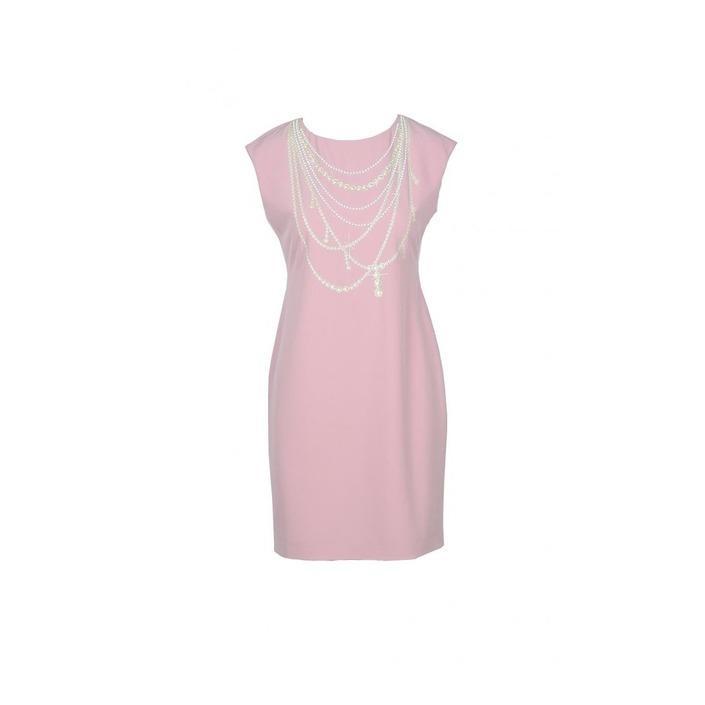 Boutique Moschino Women's Dress Pink 171597 - pink 38