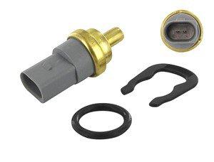 Sensor, kylvätsketemperatur, Bak, Fram, Tvåsidig, Framför kylaren, Nedre, Upptill, Vattenpump