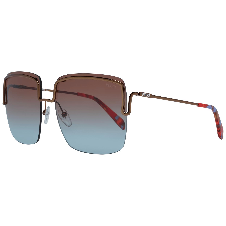 Emilio Pucci Women's Sunglasses Bronze EP0116 6236F