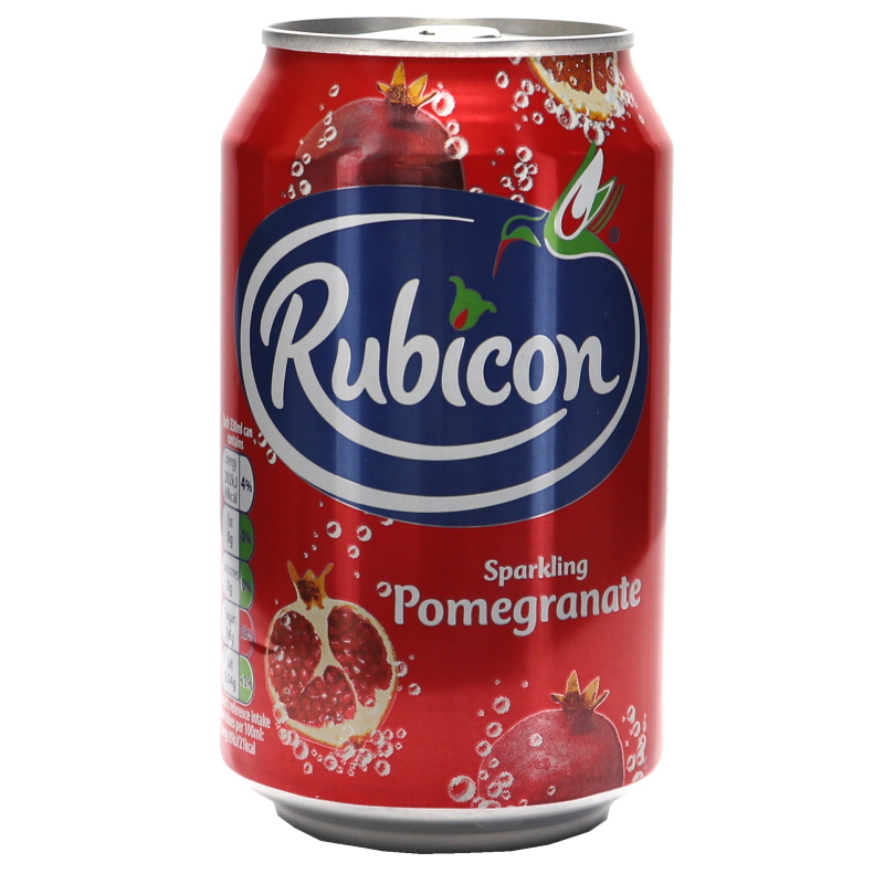 Läsk Rubicon Granatäpple - 33% rabatt