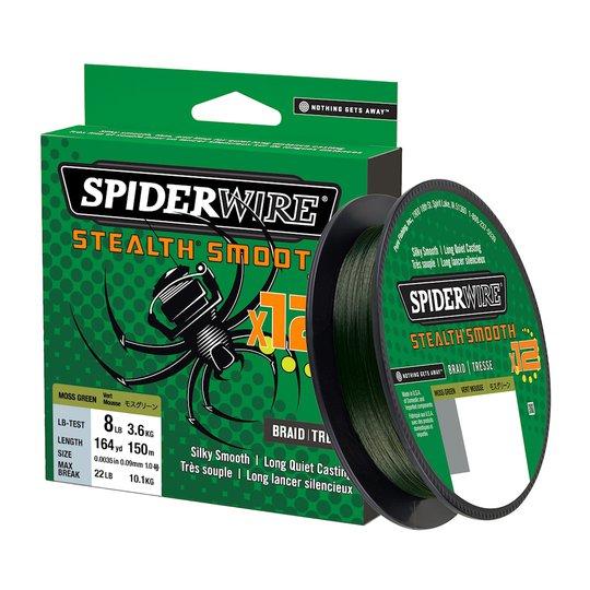Spiderwire Smooth 12 grön 150 m flätlina