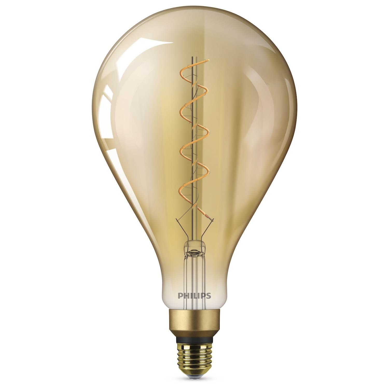 Philips LED GIANT 5W E27 GULD FL. ND