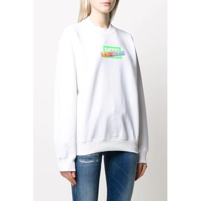 Diesel Women's Sweatshirt White 298742 - white S