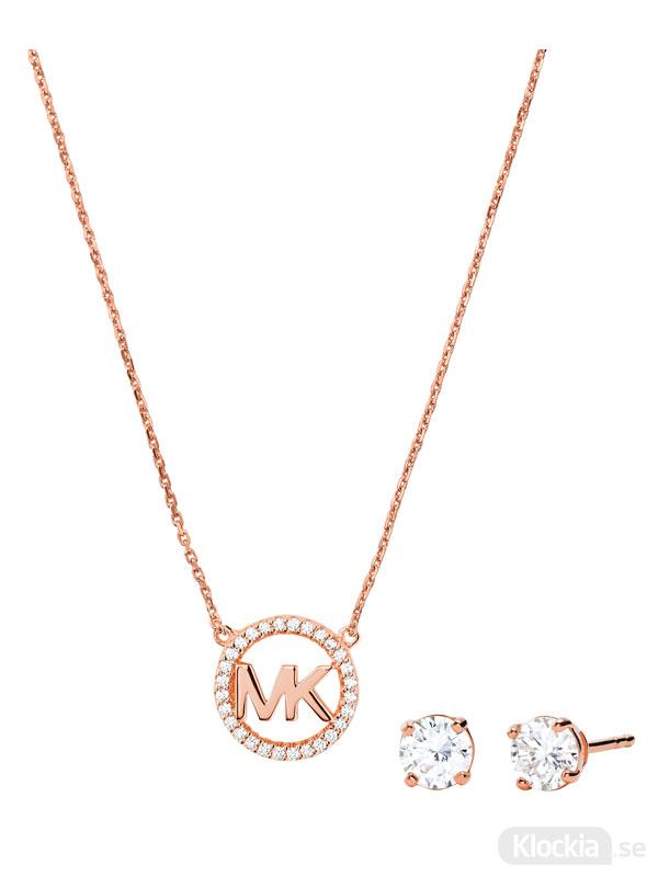 Damsmycke Michael Kors Halsband & Örhängen Premium MKC1260AN791