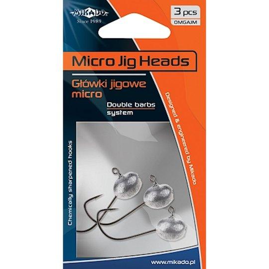 Mikado Aberdeen micro jigghuvud 4g 3st