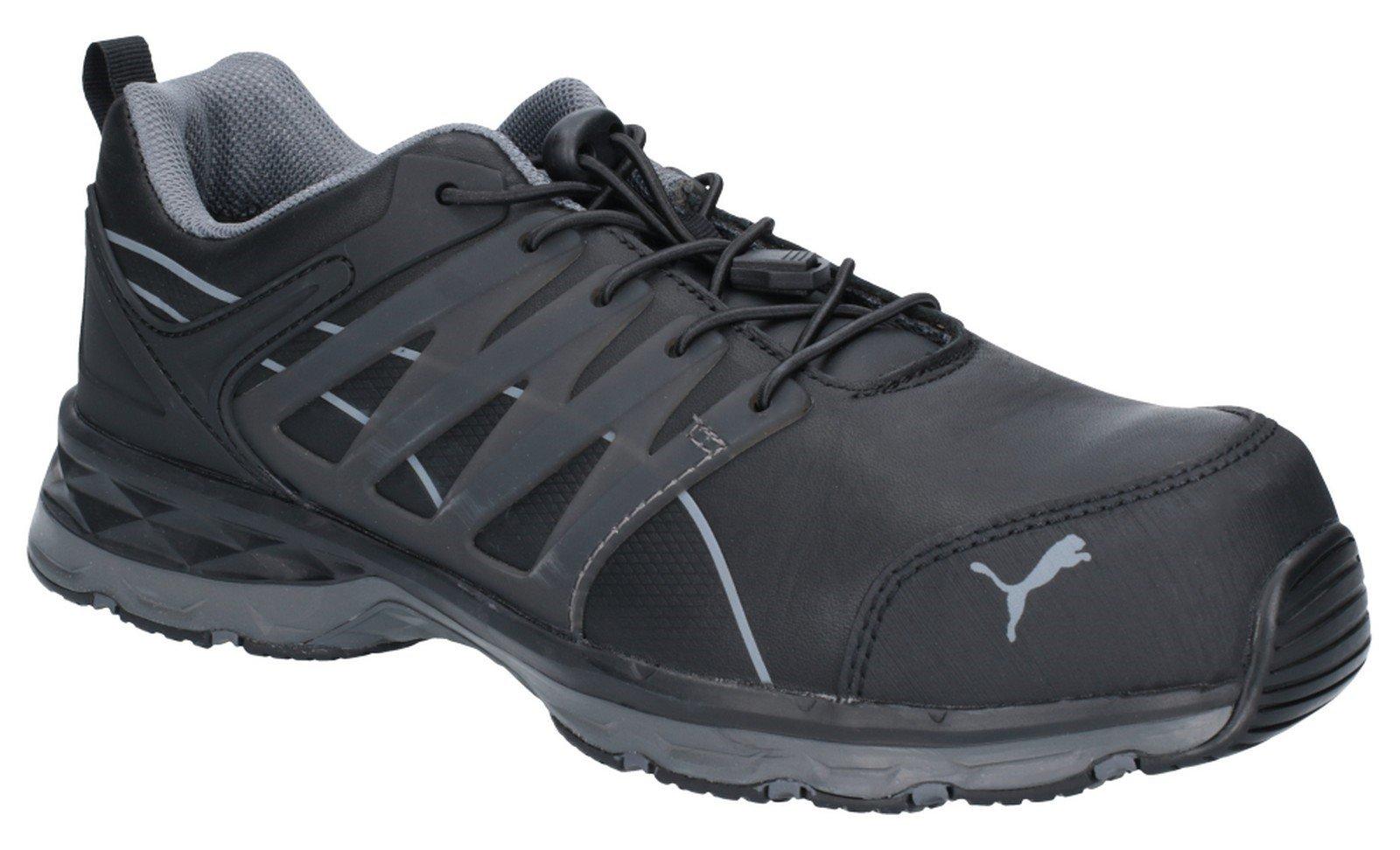 Puma Safety Unisex Velocity 2.0 Lace Up Trainer Black 28946 - Black 6